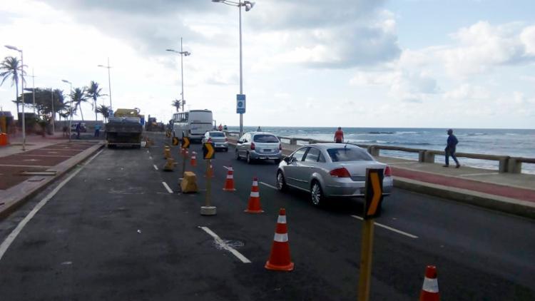 Intervenção na via deve durar 10 dias, por conta de obra na Praça Nossa Senhora da Luz - Foto: Divulgação   Transalvador