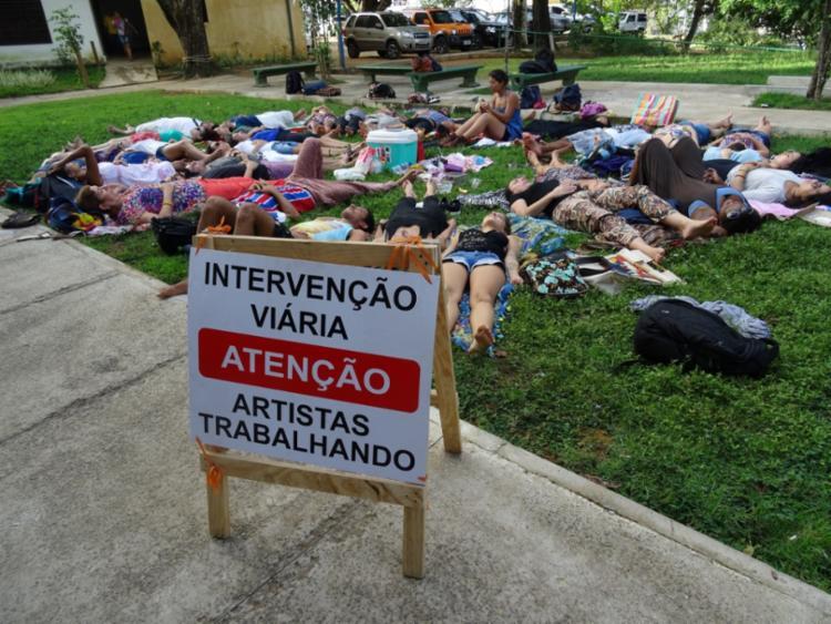 Objetivo da oficina é proporcionar a experiência de que cada lugar da cidade precisa ser ocupado - Foto: Divulgação