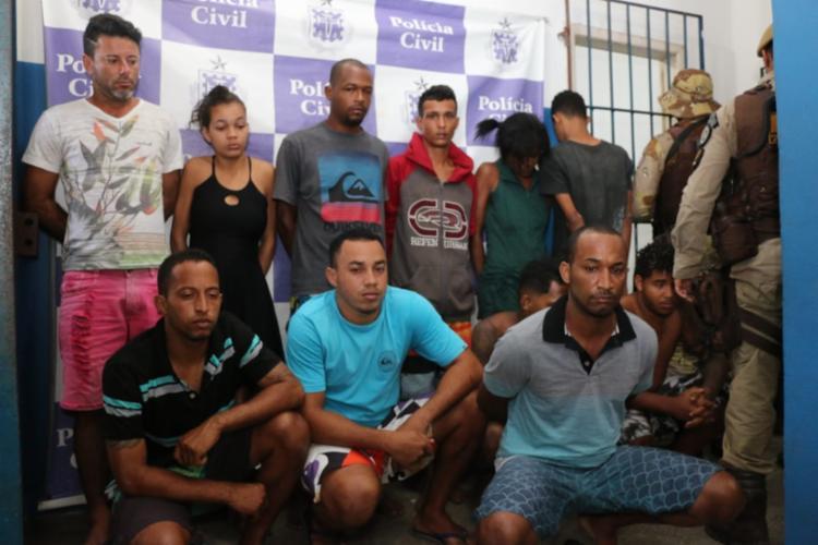 Envolvidos no esquema criminoso eram investigados há sete meses - Foto: Alberto Maraux | SSP-BA