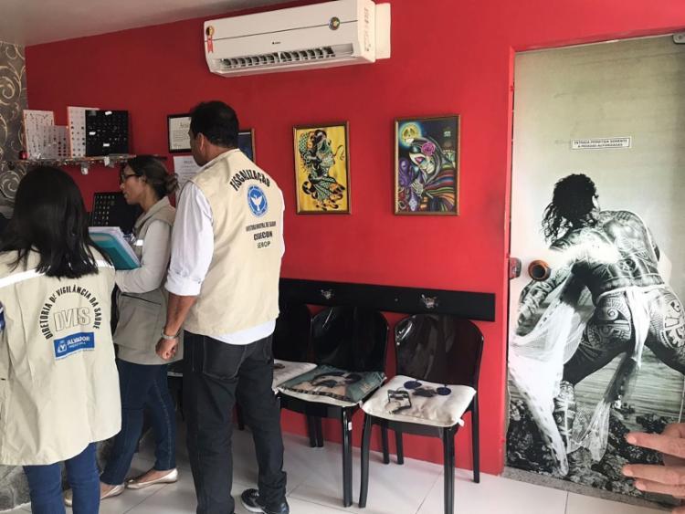 A operação foi realizada em 19 bairros de Salvador - Foto: Reprodução | Secom | PMS