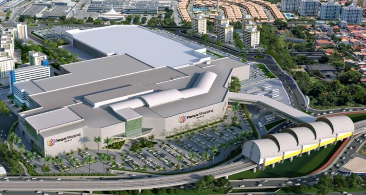 Espaço comercial compreende uma área de 80 mil m², sendo 42 mil m² de espaços comerciais - Foto: Divulgação