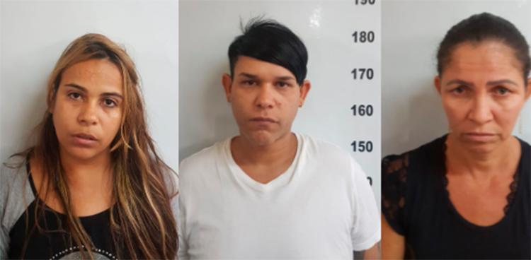 Trio de vendedores usava documentos de outras pessoas para abrir contratos - Foto: Divulgação | SSP-BA