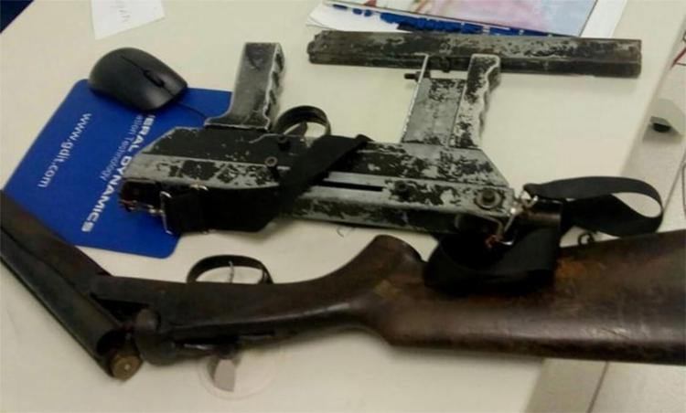 A polícia apreendeu armas e munições - Foto: Divulgação l SSP-BA