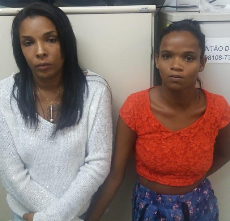 A dupla era especializada na prática de furtos em eventos contra jovens - Foto: Divulgação | SSP BA