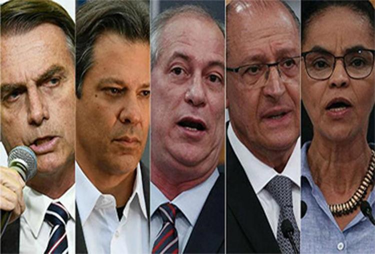 Segundo pesquisa, candidato do PSL mantém liderança, mas perde para adversários no 2º turno - Foto: Reprodução