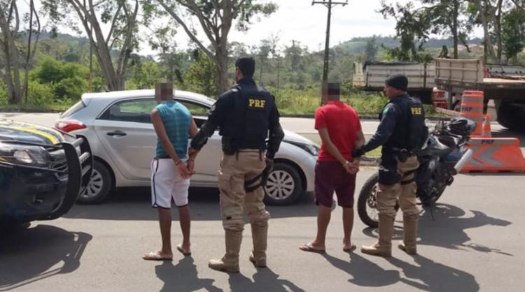 Veículo foi recuperado 24h após o crime por policiais rodoviários - Foto: Divulgação   PRF