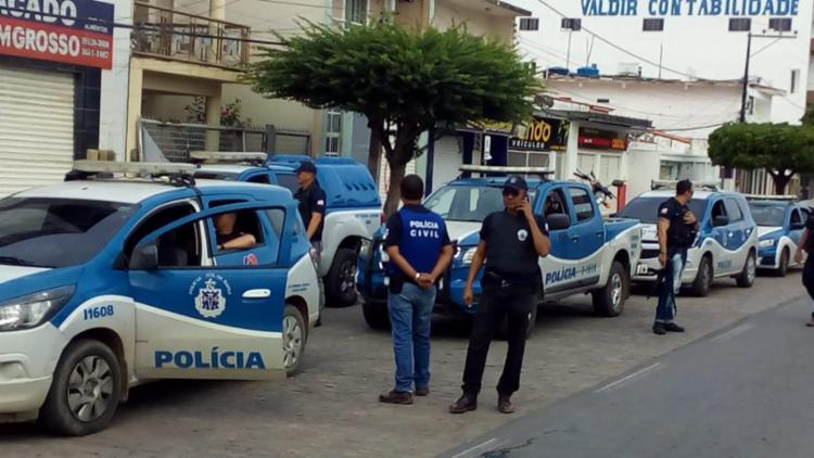 Operação Independência foi realizada nesta quarta, em Capim Grosso - Foto: Divulgação | Polícia Civil