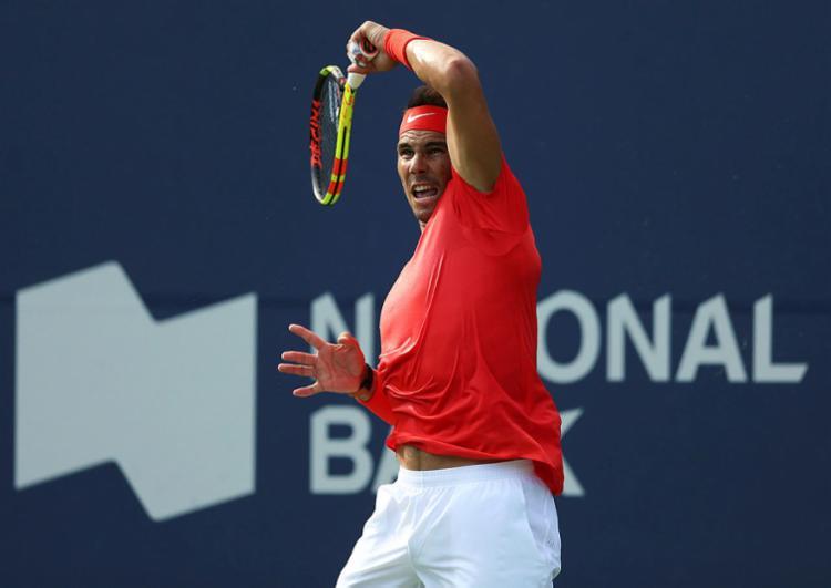 Com este desconto, Nadal abre espaço para o crescimento do suíço Roger Federer - Foto: Vaughn Ridley | AFP