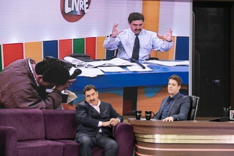 Ratinho foi entrevistado do