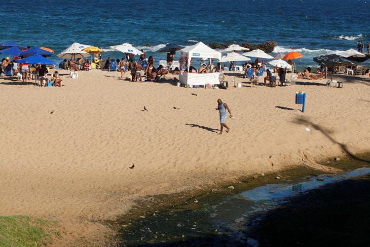 Protesto ocorrerá na praia da Paciência, no Rio Vermelho - Foto: Luciano da Matta | Ag. A TARDE