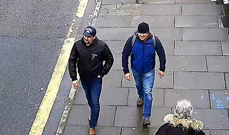 Os dois suspeitos afirmaram terem ido à cidade para visitar uma catedral - Foto: HO l Metropolitan Police Service l AFP