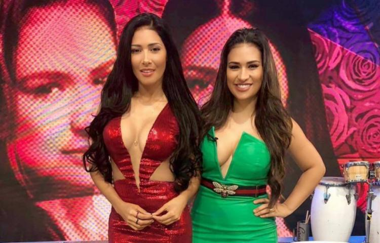 Simaria (vermelho) e Simone farão uma pausa na carreira - Foto: Reprodução   TV Globo
