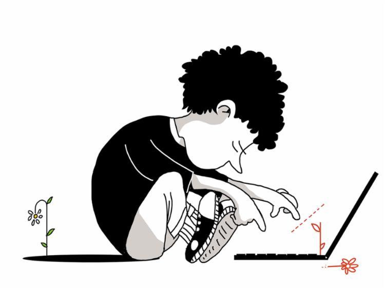 """""""Já pensei em suicídio várias vezes, tenho só 13 anos"""", escreve um menino numa rede social - Foto: Bruno Aziz"""