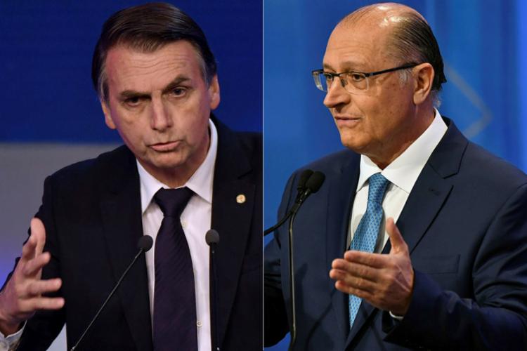 O tribunal negou ainda um pedido da coligação de Bolsonaro contra o concorrente, Geraldo Alckmin (PSDB), por publicação feita no Youtube - Foto: Nelson Almeida   AFP