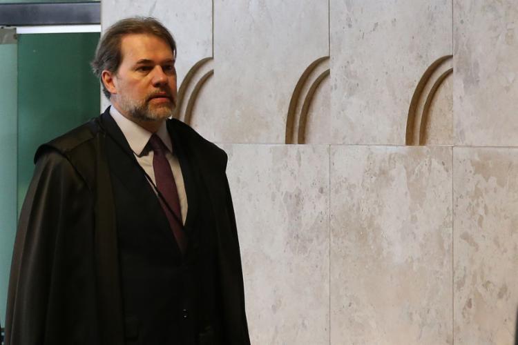 A cerimônia de posse de Toffoli será às 17h, no plenário do Supremo - Foto: Antonio Cruz | Agência Brasil