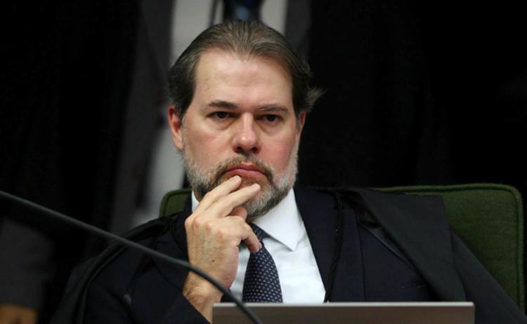 Toffoli teria sido pego de surpresa com o gesto de Alexandre de Moraes - Foto: Nelson Jr.   SCO   STF   19.06.2018