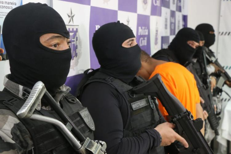 Caíque é suspeito de pelo menos 25 homicídios - Foto: Alberto Maraux | SSP-BA