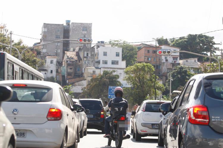 Entorno do Dique do Tororó será alguns dos locais que terão o tráfego modificado - Foto: Joá Souza / Ag. A TARDE