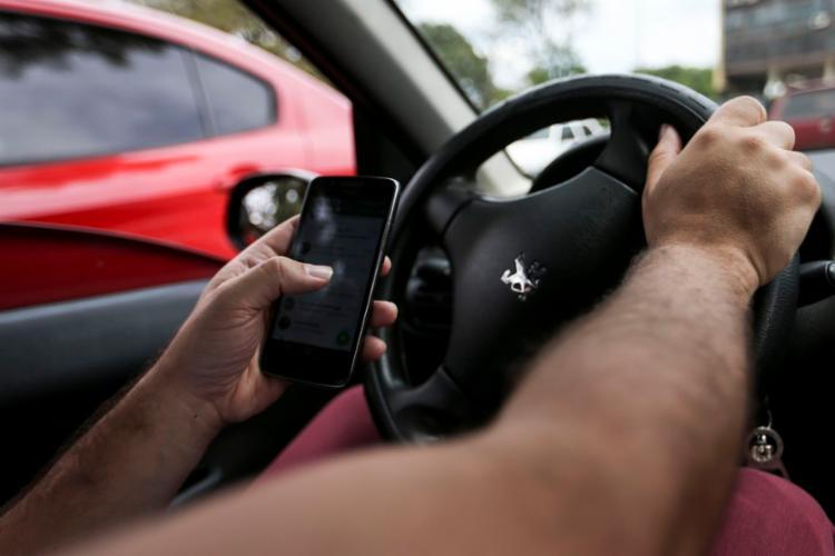 De janeiro a julho, segundo o órgão, esse tipo de infração resultou na aplicação de 759,7 mil multas em todo o país - Foto: Marcelo Camargo | Agência Brasil