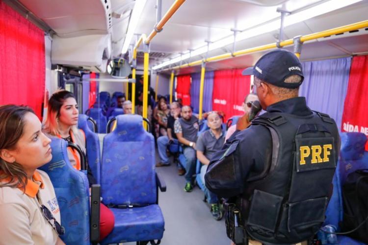 O tema da campanha deste ano foi 'Nós somos o trânsito' - Foto: Divulgação| PRF