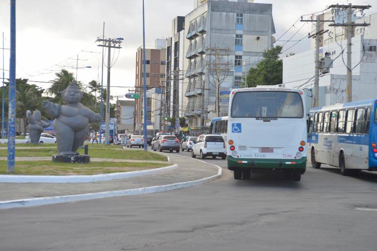 O trânsito será alterado para vias alternativas como Centenário, Garibaldi entre outros - Foto: Shirley Stolze | Ag. A Tarde