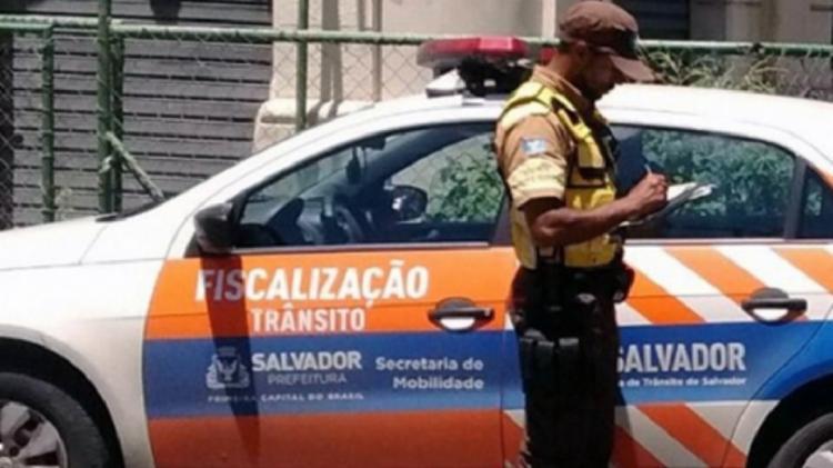 O acidente aconteceu por volta das 16h, na rua dos Rodoviários - Foto: Reprodução