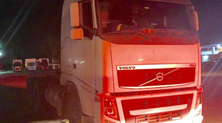 Caminhão foi roubado em abril de 2012, na cidade de São Bernado dos Campos, em São Paulo - Foto: Divulgação | PRF-BA