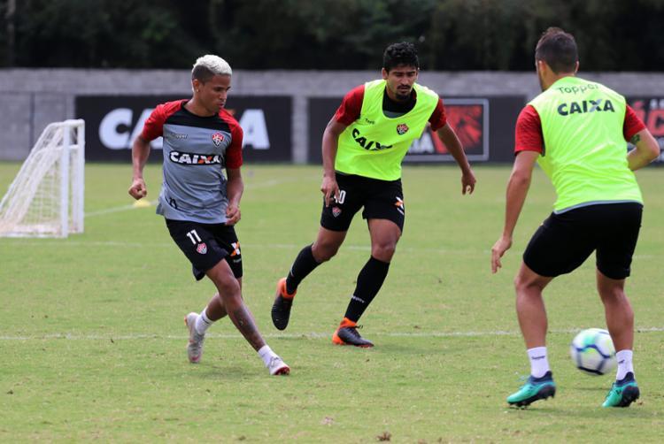 O Rubro-Negro enfrentará o Botafogo no próximo domingo, 23, no Barradão, às 18h - Foto: Maurícia da Matta | EC VItória