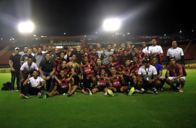 Em 2015, O Vitória chegou a final da primeira edição do Campeonato Brasileiro organizado pela Confederação Brasileira de Futebol - Foto: Maurícia da Matta | EC Vitória