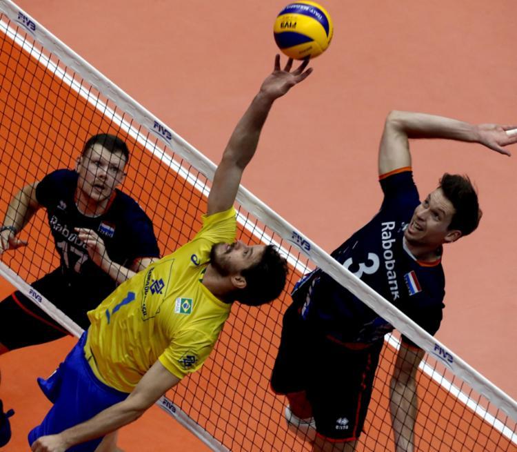 O resultado ruim fez o Brasil cair para o quarto lugar do Grupo B da competição - Foto: Divulgação | FIVB
