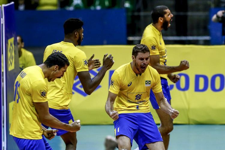 O Brasil ganhou 4 das 5 partidas disuputadas - Foto: Wander Roberto   Inovafoto   CBV
