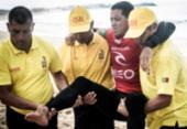 Mineirinho sente lesão, abandona bateria e deixa etapa portuguesa do surfe | Foto: WSL