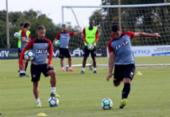 Vitória viaja e já treina em Chapecó; dúvidas na equipe permanecem | Foto: Moysés Suzart l EC Vitória