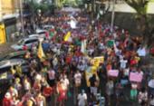 Ato pela Democracia é realizado no centro de Salvador | Foto: Luciano Carcará | Ag. A TARDE