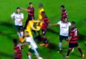 Brasileiro Sub-20: Vitória pode perder mando de campo por tumulto | Foto: Reprodução | FBF
