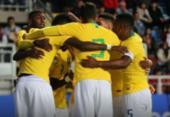 Seleção brasileira sub-20 volta a ficar no empate com o Chile em amistoso | Foto: Divulgação l CBF