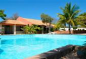 Criança morre afogada em piscina de hotel em Rio de Contas   Foto: Reprodução   Booking.com
