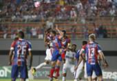 Com dois gols de Vinícius, Bahia sai do sufoco e vence o lanterna do Brasileirão | Foto: Adilton Venegeroles | Ag. A TARDE