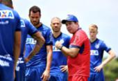 Bahia faz último treino no Fazendão antes de viajar para o Rio | Foto: Felipe Oliveira l EC Bahia