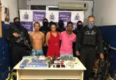 Suspeitos de tráfico são presos e esconderijo é desmontado em Simões Filho | Foto: Divulgação | SSP-BA