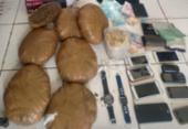 Irmãos são presos com sete quilos de maconha em Esplanada | Foto: Divulgação | SSP-BA