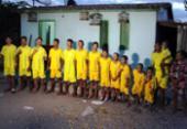 Pais nomeiam 14 filhos com nomes de jogadores de futebol | Foto: Raimundo Mascarenhas | Calila Noticias