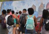 Cinco ferries operam no retorno a Salvador nesta segunda-feira | Foto: Shirley Stolze | Ag. A TARDE | 01.04.2018