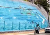 Rio Vermelho ganha primeira geomanta grafitada de Salvador | Foto: Divulgação | Prefeitura de Salvador