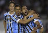 Sem Luan, Grêmio vence na Argentina e abre vantagem sobre o River na Libertadores | Foto: Juan Mabromata l AFP