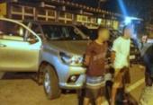 Suspeitos de roubo a veículos são presos pela PRF em Feira | Foto: Reprodução | PRF