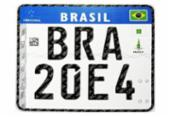 Justiça suspende adoção de placas de veículos do Mercosul | Foto: