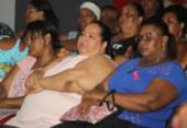 Palestra discute a importância da redução do estresse na perda de peso | Foto: Elói Correa | Divulgação | GOV-BA