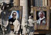 Francisco proclama Paulo VI e Óscar Romero santos da Igreja | Foto: AFP