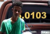 Falso vendedor é preso com arma dentro de isopor em ônibus | Foto: Divulgação| SSP-BA